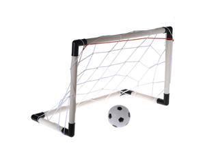 61CM Mini Football Soccer Goal Post Net Ball Pump Indoor Outdooor Child Kid Toy