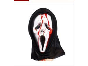 Halloween Party Supplies With Blood Capsule Skeleton Mask