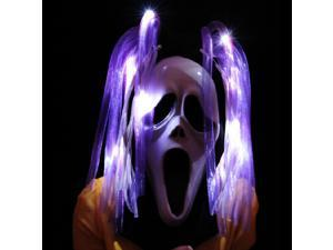 Luminous Ghost Hair Halloween Prop Costume Ball With LED