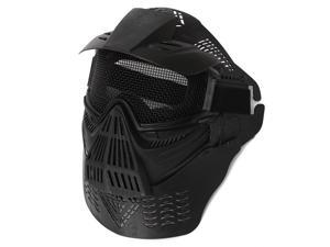 New Hot Tactical Adjustable Airsoft Paintball War Game Full Face Protect Biker Full Mask Safety Gear Mask