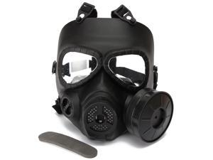 New Hot Tactical Adjustable Airsoft Paintball War Game Full Face Protect Toxic Gas Mask Safety Gear Mask