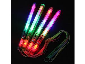 10x LED Multi Flashing Colorful 7Modes Light Glow Sticks