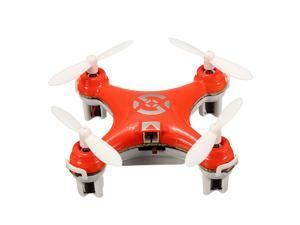 Cheerson Mini CX-10 2.4G 4CH 6 Axis LED Light Remote Control Quadcopter RTF Mode 2 - Orange
