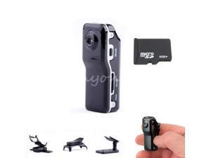 MD80 Mini DV Camcorder Digital Video Recorder Small Camera Hidden W/ 8G TF Memory Card