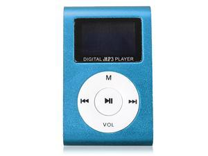 Mini Digital MP3 Player FM Radio LCD Screen with Earphone for 2/4/8/16GB TF Card