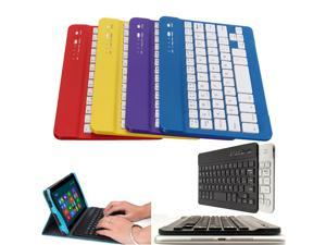 Aluminum Light weight quiet keystrokes water-proof dust-proof Wireless Bluetooth Mini Keyboard For MAC IOS Android Windows PC Tablet