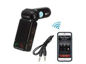Adjustable Dual USB Auto Car Charger Wireless Bluetooth MP3 Player FM Transmitter Modulator