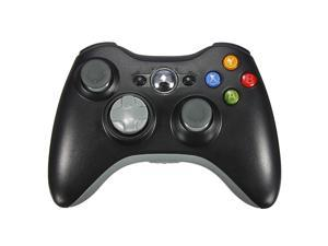 2.4GHz Wireless Remote Shock Gamepad Joypad Game Controller for Microsoft Xbox 360 Black