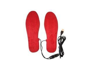 NEW USB Electric Powered Heated Insoles For Shoes Boots Keep Feet Warm Free size