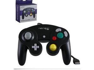 Retrolink Wired Nintendo Gamecube NGC GC USB Controller  For Nintendo Gamecube NGC PC Mac Black Shipped US