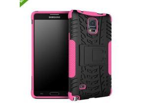 Hybrid Rugged Silicone Hard Kickstand Case Cover Skin For Samsung Note 4 N910