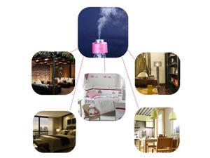 Mini Portable Water Bottle Caps USB Humidifier Aroma Air Diffuser Mist Maker for Bed Room Office Cafe Car Travel Pink