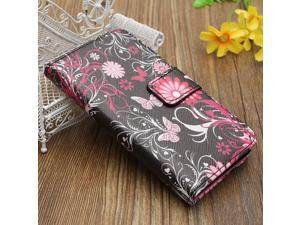 Flip Leather Wallet Case Cover Stand For Sony Xperia Z3 Compact Mini D5803 D5833