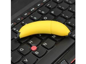 4G 4GB Portable Cute Novelty Banana Flash Memory Stick Pen Drive Storage Thumb U Disk Gift