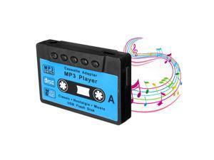 New Mini USB MP3 Music Player Disk Cassette Shape Support 1-32GB Micro SD TF Card Gift