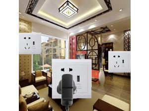 New USB Port Wall Socket Charger Station Panel Electric Plug Power Adapter Outlet  For Charging Cell Phones Tablets GPS  MP3 player  and USB Devices