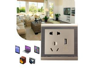 USB Port AC Wall Charger Station Power Adapter Socket Outlet Electrical Supply