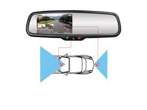 "4.3"" Rearview Mirror Display"