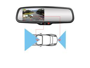 "4.3"" Rearview Mirror Display"