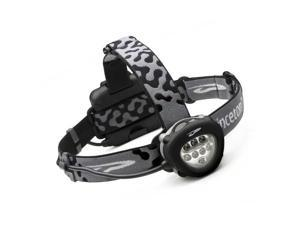 Princeton Tec PT00951 Headlamp Corona Black & Gray Lexan Housing W/ Logo & Adjus
