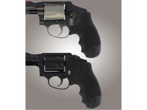Hogue S&W J Frame Round Butt Centennial/Polymer Rubber Tamer Grip 60020