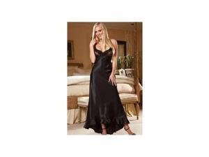 Shirley of Hollywood Black Magic Long Gown 20474-B Black Small