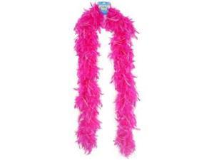 """72"""" Feather Boa - Pink W/Tinsel 8302-44"""