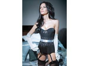 Love Spell Corset by Coquette SB581 Black Xtra Large