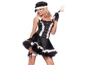 Fifth Avenue Maid BW887 by Be Wicked Black Medium/Large