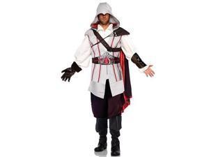 Leg Avenue Ezio Assassin Costume AS85034 Grey Medium/Large