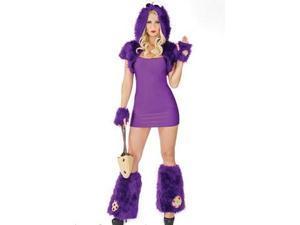 Biscuit Beast Costume M6190 Coquette Purple Small/Medium