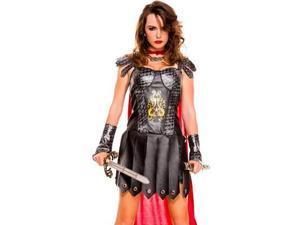 Medieval Warrior Queen Costume 70612 by Sky Hosiery Black Small/Medium