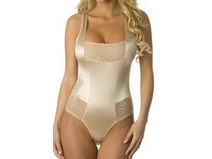 Nude Sexy Control Bodysuit Velvet Kitten 303727-NDE Nude Xtra Large