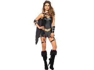 Dark Warrior Costume Leg Avenue 85415 Black Large