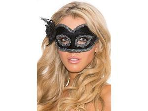 Dark Romance Eye Mask Shirley of Hollywood 933 Black One Size Fits All