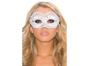 Vision In White Eye Mask Shirley of Hollywood 930 White One Size Fits All