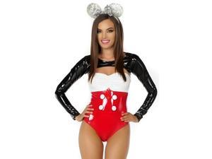 Miss Mouse Costume Forplay 555256 Red Xtra Small/Small