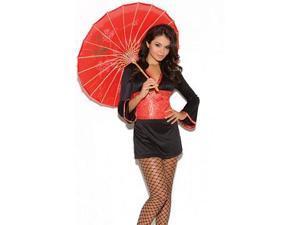 Oriental Goddess Costume Elegant Moments 9091 Black/Red Large