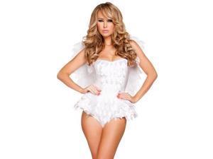Alluring Angel Costume Roma Costume 4629 White Medium