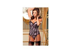 Shirley of Hollywood Hollywood & Vines Corset 25990SH Violet 32