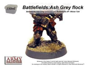 Ash Grey Scatter Battlefields Miniature Basing AMYBF4105 THE ARMY PAINTER
