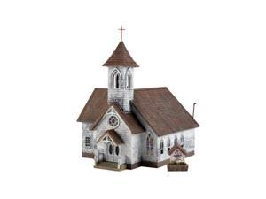 HO Kit DPM Country Church WOOU5191 DESIGN PRESERVATION MODELS