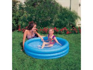 "Crystal 3 Ring Blue Pool, 3-Ring, 66"" X 16"" INX58446"