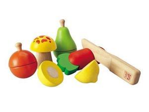 Plan Toy Fruit and Vegetable Play Set 5337 PLAN TOYS