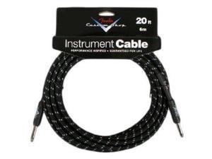 Fender Accessories 099-0820-049 Fender Custom Shop 15-Feet Instrument Cable - Tweed 099-0820-049 FENDER
