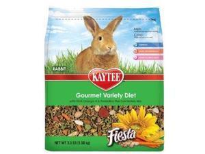 Kaytee Products Inc Fiesta Food Rabbit, 3.5 Pound - 100512606
