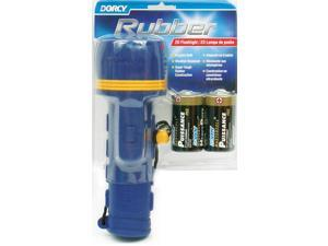 DORCY Dorcy 41-2966 Rubber Flashlight with Batteries