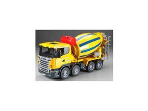 3554 Scania Cement Mixer Truck BTAH3554 BRUDER TOYS AMERICA, INC.
