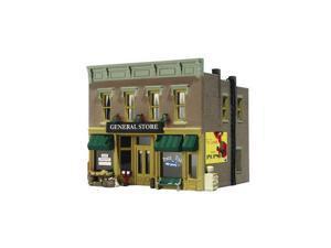 BR5021 Blt/Rdy Lubener's General Store HO WOOU5021 DESIGN PRESERVATION MODELS