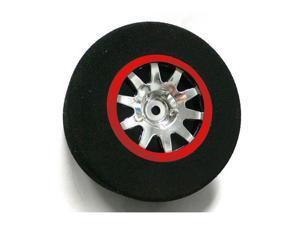 Front Short Course Foams Blue, Mnt Chrome Wheel TRITEP8001 TRINITY